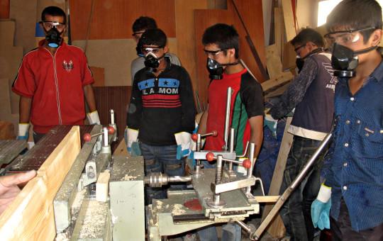 Vocational Carpentry Training