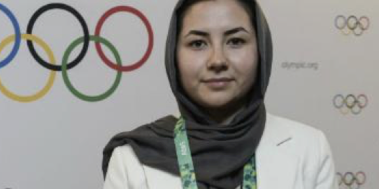 1st Afghan ever elected to IOC