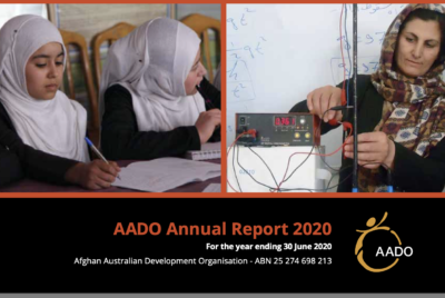 AADO's Annual Report for 2019-20